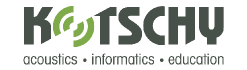 Kotschy and Partners Ltd. Acoustics - Informatics - Education